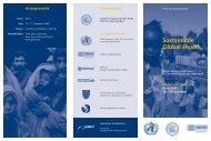 Sustainable Global Health - bei Congress und Presse