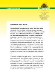 Schlammfrei in den Winter - Neudorff