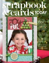 Download Now - Scrapbook & Cards Today