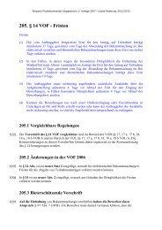 205. § 14 VOF - Fristen - Oeffentliche Auftraege