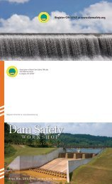 Association Of State Dam Safety Officials annual workshop 2011