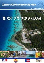 Te Reo n°4 - Haut-Commissariat de la république en Polynésie ...