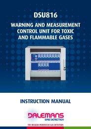 DSU816 - Dalemans Gas Detection
