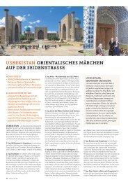 usbekistan orientalisches märchen auf der ... - SKR Reisen