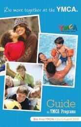 Bay Area YMCAs • April-August 2009