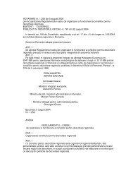 HOTARARE nr. 1256 din 5 august 2004 privind aprobarea ...