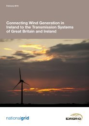 Joint Study with EirGrid - National Grid