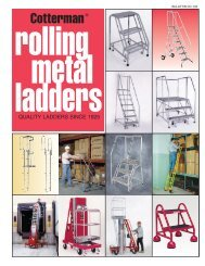 Cotterman® - Safety Ladders Express