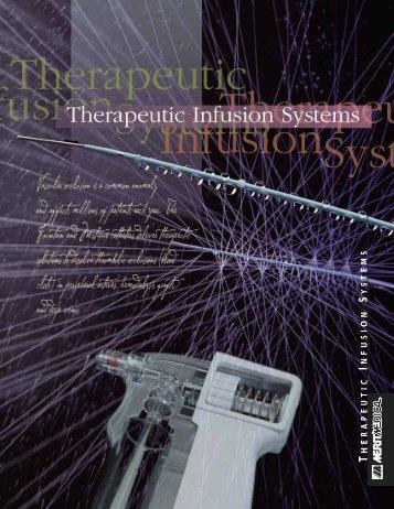 HERAPEUTIC NFUSION YSTEMS - plena