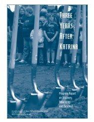 Three Years After Katrina - Mississippi Renewal