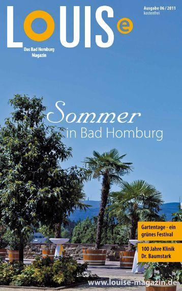 Sommer - LOUISe Magazin Bad Homburg