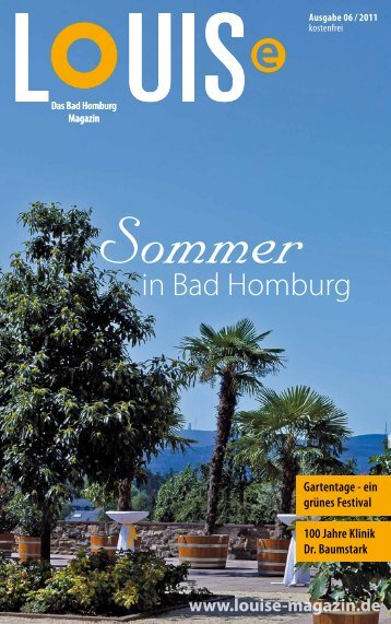 Sommer - LOUISe Magazin Bad Homburg