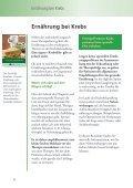 Ernährung bei Krebs.pdf - Wiener Krebshilfe - Seite 6
