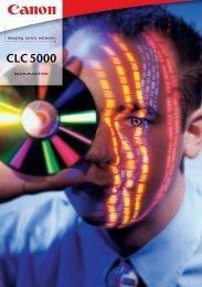 CLC 5000 -  Bürotechnik Canon Kopierer Farbkopierer Drucker ...