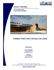Former Thrift-Way - Upland Real Estate Group