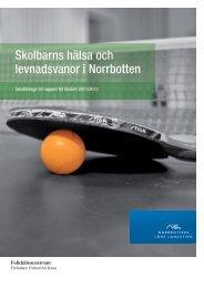 Tabellbilaga till rapport 2011/2012 - NLLplus.se, Norrbottens Läns ...