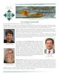 Cox College Leadership - CoxHealth
