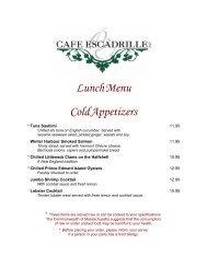 Cafe Lunch Menu - For Website.pub - Cafe Escadrille