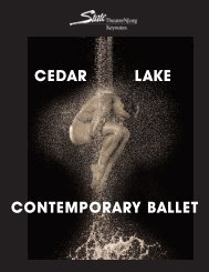 Cedar Lake Contemporary Ballet - State Theatre