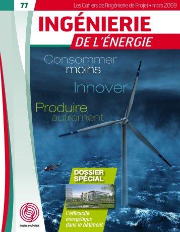 Ingénierie de l'énergie - Syntec ingenierie