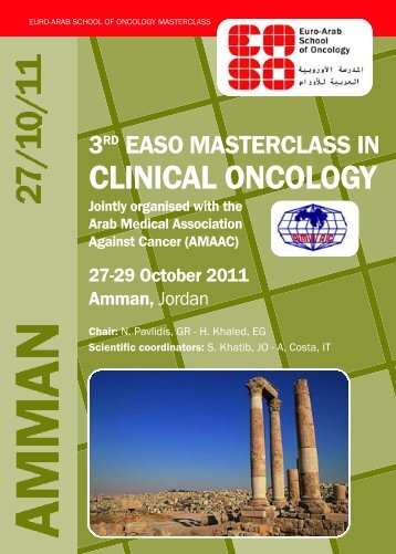 C L I N I CAL ONCOLO GY - Arab Medical Association Against Cancer