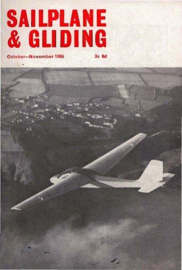 Sailplane & Gliding 1966 - Lakes Gliding Club