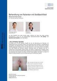Behandlung von Patienten mit Steißbeinfistel - St. Augustinus ...