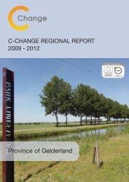 Province of Gelderland Regional Report - C-Change
