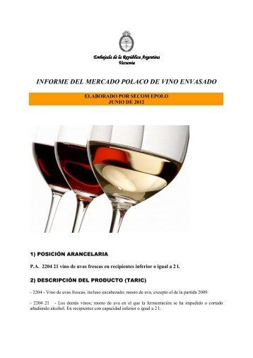 informe del mercado polaco de vino envasado - Wines Of Argentina