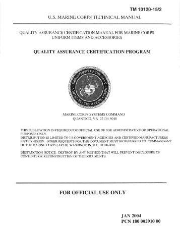 tm 09724a 10 1 us marine corps technical manual with specops rh yumpu com Engineer Equipment Characteristics Manual 1345 Engineer Equipment Operator