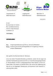 Offener Brief an Verkehrsminister Ramsauer - tunnelloesung.de