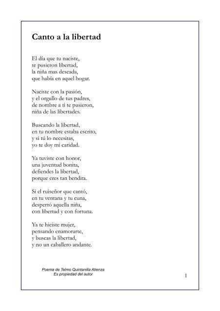 Canto A La Libertad