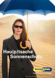 Hau(p)tsache Sonnenschutz - Krebsliga Zug