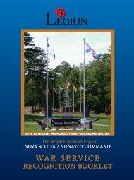 VSRB Vol 1 - Royal Canadian Legion
