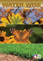 landscaping & watering guide - Metropolitan Washington Council of ...