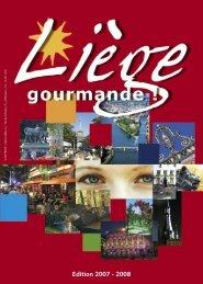 *Liège gourmande 2007-2008.indd - Office du Tourisme