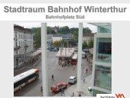 Stadtraum Bahnhof Winterthur