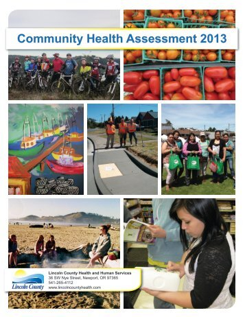 Community Health Assessment 2013 - Lincoln County, Oregon