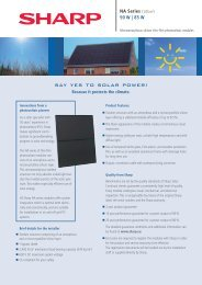 say yes to solar power! - Belectric