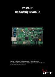 PostX IP Reporting Module - ICT