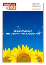 TRANSFORMING THE dERIvATIvES LANdSCAPE - Futures and ...