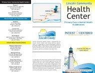 Health Center - Lincoln County, Oregon