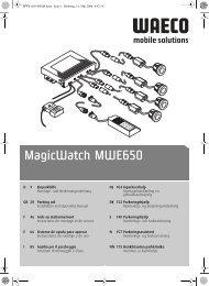 MagicWatch MWE650 - Waeco