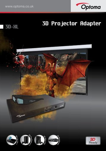 3D projector adapter, the Optoma