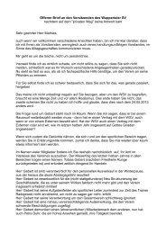 Offener Brief an den Vorsitzenden des Wuppertaler SV nachdem auf ...