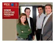 the senior executive program for latin america - IAE Business School