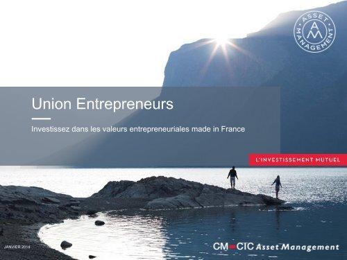Présentation - CM-CIC Asset Management