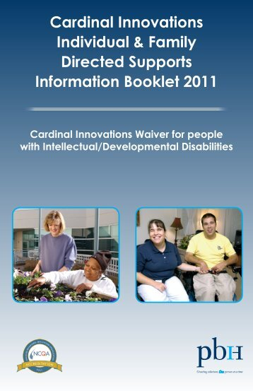 Individual and Family Directed Supports Booklet