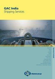 GAC India Shipping Services
