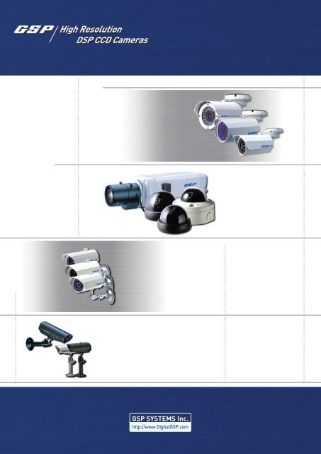 05 DSP CCD Cameras - Zone Technology
